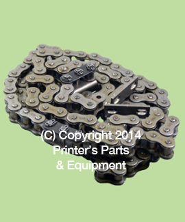Chain Delivery for QM46 with 3 Gripper Bar Carrier Links