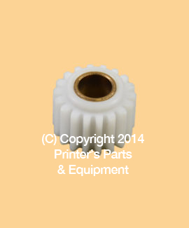 Drive Gear Ink Idler Night Latch NYLON AB Dick All Models (A-76386N) (PPE-36455)
