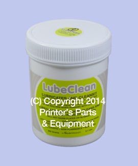 Lube Clean Rubber Roller Paste