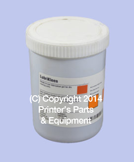 Lubrication Gel for Dry Running Units