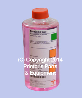 Fountain Concentrate for Run-10000 Laser Polyester Plates
