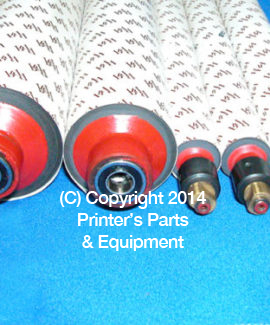 Rubber Rollers Set AB Dick 375 and 9800