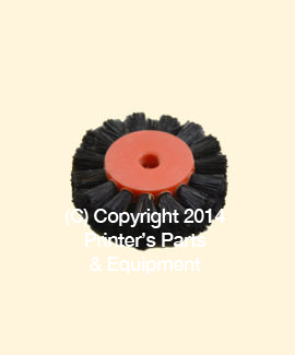 Feeder Brush Wheel 35mm x 5mm pin Hard