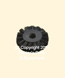 Feeder Brush Wheel 35mm x 8mm pin (Medium) (HE-90405)