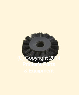 Feeder Brush Wheel 35mm x 5mm pin