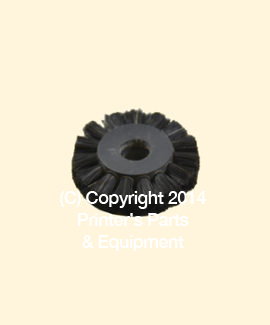 Feeder Brush Wheel 35mm x 8mm pin (Medium) (HE-90408)