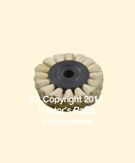 Feeder Brush Wheel 35mm x 8mm x 8mm Soft