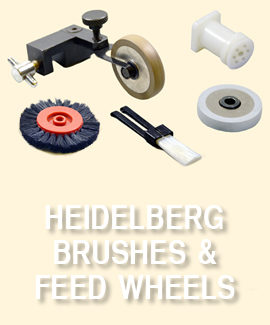 Heidelberg Brush/Feed Wheels
