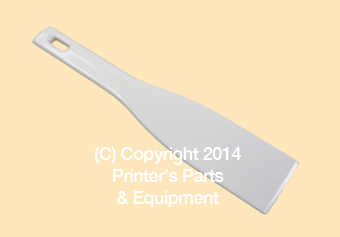 Ink Mixing Knife Plastic White
