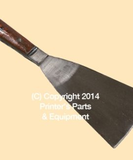 Ink Mixing Knife Metal 3-5 Inch Wide