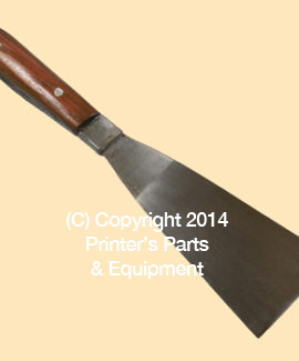 Ink Mixing Knife Metal 3 Inch Wide