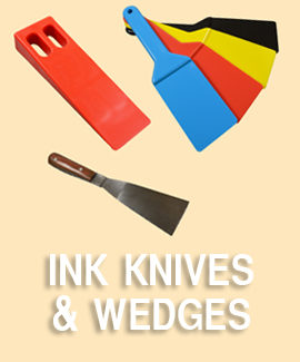 Ink Knives & Wedges