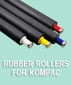 Kompac Rubber Rollers