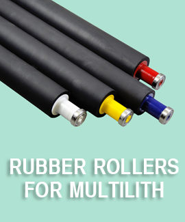 Multilith Rubber Rollers