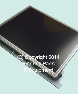 "Display Unit 15"" without Touch for Polar Cutter ZA3.051591R"