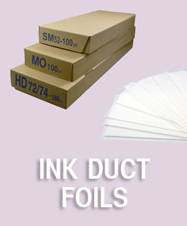 Ink Duct Foils