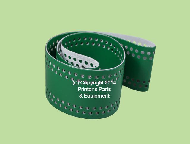 Suction Tape Green Perforated for Heidelberg SM74 HE-M3-020-014