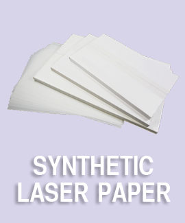 Synthetic Laser Paper