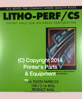 Litho-Perf 10-foot roll