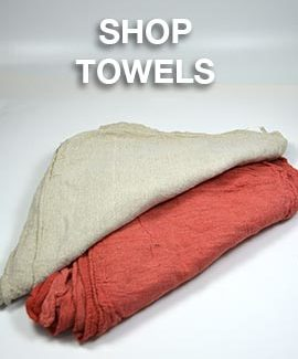 Shop Towels, Shop Rags, Shop Wipers - Wiping Cleaning Rags