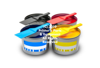 Offset Ink CMYK - CMYK Offset Ink Set of 4 - 2.5kg (5.5 lb) each High-Quality German Set of 4 (CMYK) Offset Inks